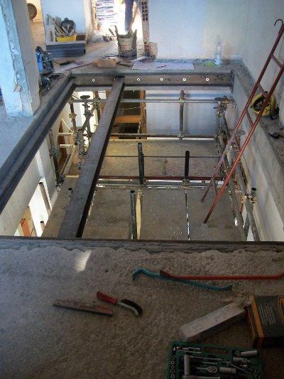 Apertura solaio con scala 1 9 impresa edile arkimede - Apertura solaio per scala interna ...