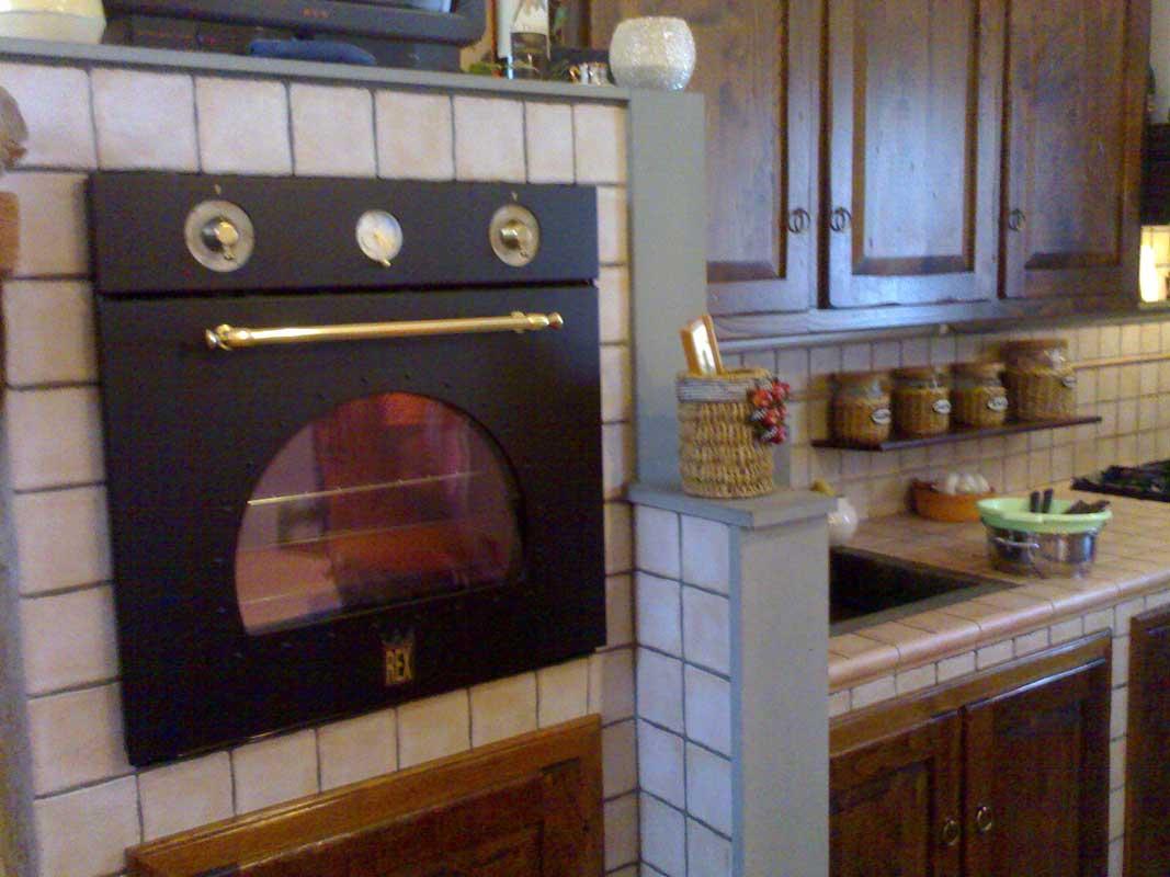 Galleria fotografica cucina in muratura con camino for Cucina con camino