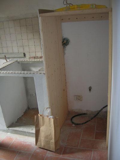 Cucina in muratura e cartongesso-10 | Impresa Edile Arkimede